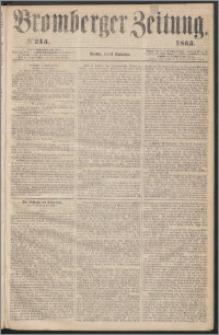 Bromberger Zeitung, 1863, nr 215