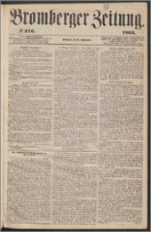 Bromberger Zeitung, 1863, nr 216