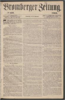 Bromberger Zeitung, 1863, nr 223