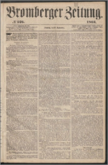 Bromberger Zeitung, 1863, nr 226