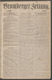 Bromberger Zeitung, 1863, nr 229