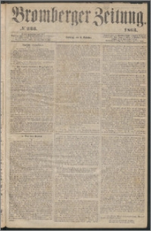 Bromberger Zeitung, 1863, nr 233