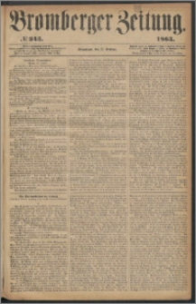 Bromberger Zeitung, 1863, nr 243