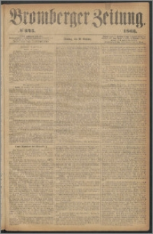 Bromberger Zeitung, 1863, nr 245