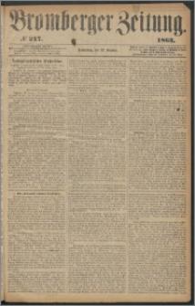 Bromberger Zeitung, 1863, nr 247