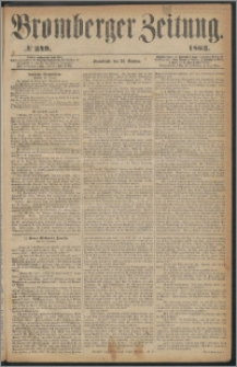 Bromberger Zeitung, 1863, nr 249