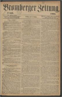 Bromberger Zeitung, 1863, nr 251
