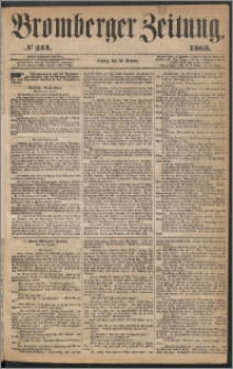 Bromberger Zeitung, 1863, nr 254