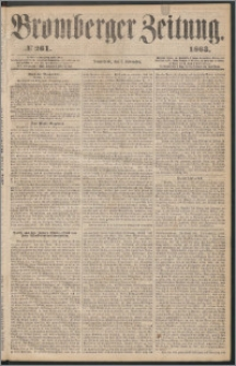 Bromberger Zeitung, 1863, nr 261