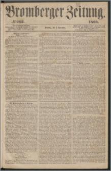 Bromberger Zeitung, 1863, nr 262