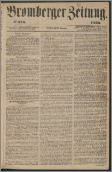 Bromberger Zeitung, 1863, nr 274