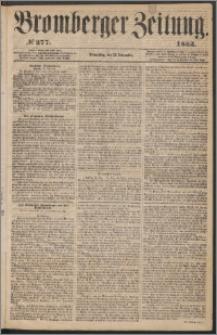 Bromberger Zeitung, 1863, nr 277