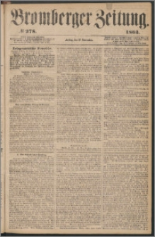 Bromberger Zeitung, 1863, nr 278