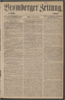 Bromberger Zeitung, 1863, nr 282