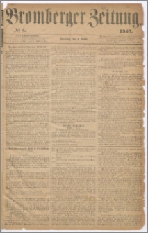 Bromberger Zeitung, 1864, nr 5