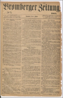 Bromberger Zeitung, 1864, nr 7