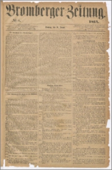 Bromberger Zeitung, 1864, nr 8