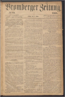 Bromberger Zeitung, 1864, nr 12