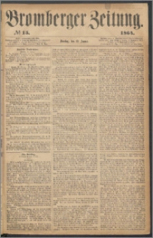 Bromberger Zeitung, 1864, nr 15