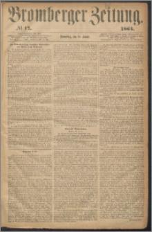 Bromberger Zeitung, 1864, nr 17