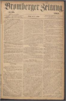 Bromberger Zeitung, 1864, nr 18