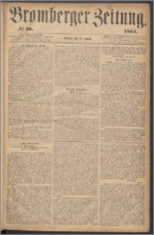 Bromberger Zeitung, 1864, nr 20