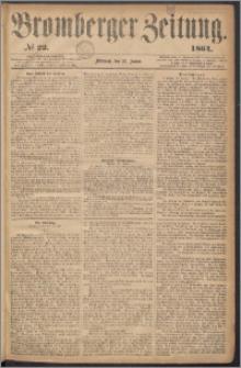 Bromberger Zeitung, 1864, nr 22