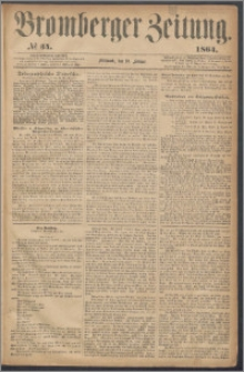 Bromberger Zeitung, 1864, nr 34