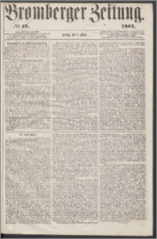 Bromberger Zeitung, 1864, nr 54