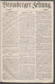 Bromberger Zeitung, 1864, nr 61