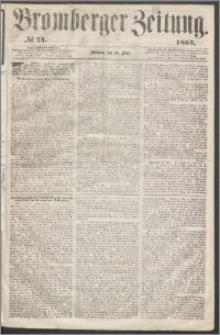 Bromberger Zeitung, 1864, nr 74