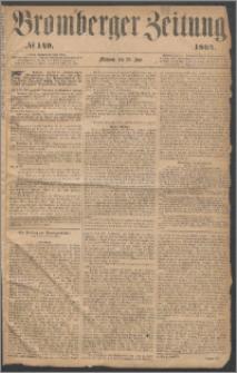 Bromberger Zeitung, 1864, nr 149