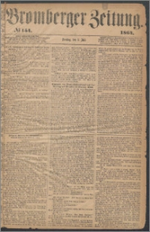 Bromberger Zeitung, 1864, nr 154