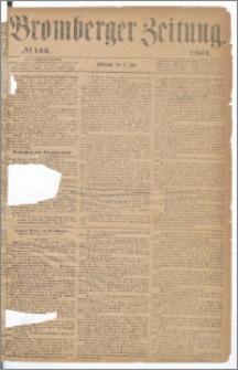 Bromberger Zeitung, 1864, nr 155