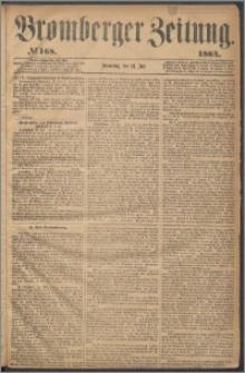 Bromberger Zeitung, 1864, nr 168
