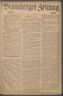 Bromberger Zeitung, 1864, nr 169
