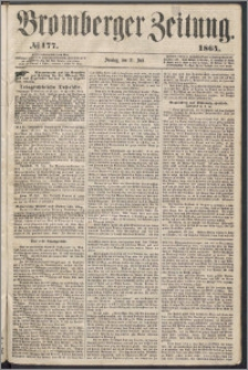 Bromberger Zeitung, 1864, nr 177