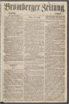 Bromberger Zeitung, 1864, nr 184