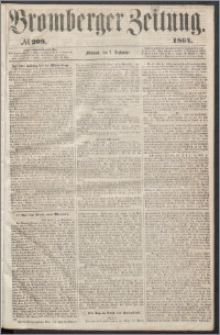 Bromberger Zeitung, 1864, nr 209