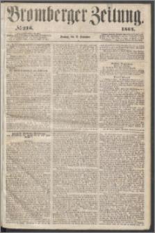 Bromberger Zeitung, 1864, nr 213