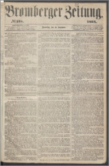Bromberger Zeitung, 1864, nr 216