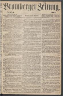 Bromberger Zeitung, 1864, nr 218