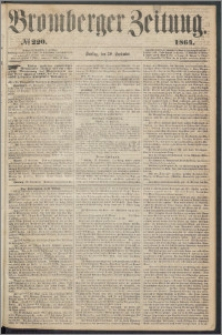 Bromberger Zeitung, 1864, nr 220