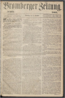 Bromberger Zeitung, 1864, nr 222