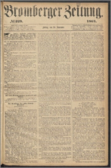 Bromberger Zeitung, 1864, nr 229