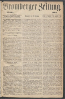 Bromberger Zeitung, 1864, nr 302