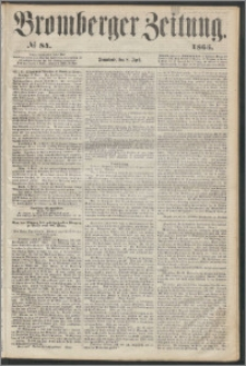 Bromberger Zeitung, 1865, nr 84