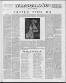 Wiadomości, R. 13 nr 48 (661), 1958