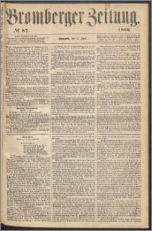 Bromberger Zeitung, 1866, nr 87