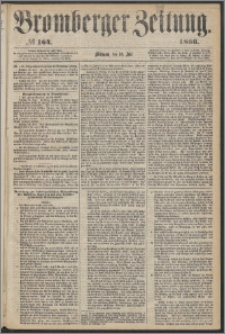 Bromberger Zeitung, 1866, nr 164